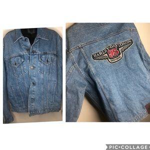 Harley Davidson vintage 1998 denim jacket med